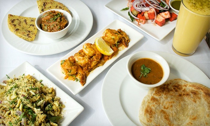 Bhojan - Kips Bay: $18 for Two Person Indian Dinner including Appetizer, Entrees, Dessert, and Lassis at Bhojan (Up to $40 Value). $32 for Four Person Option (Up to $80 Value).