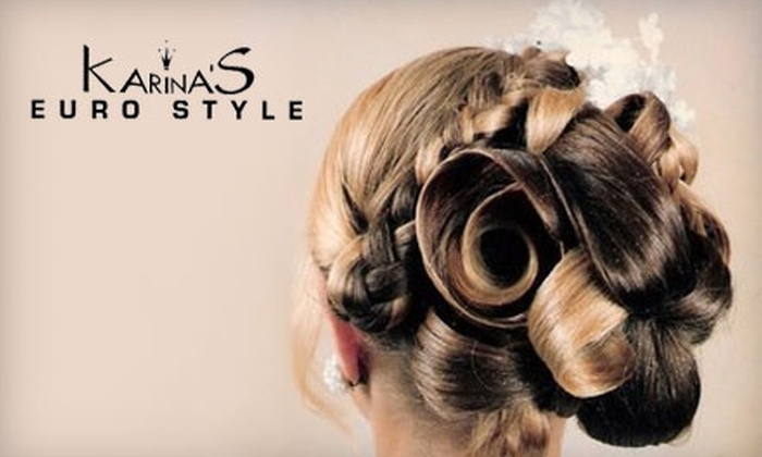 Karina's Euro Style - Miami: $30 for $60 Worth of Salon and Spa Services from Karina's Euro Style