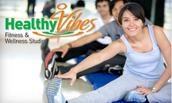 Healthy Vibes Fitness - St John's: $7 for a 45-Minute Infrared Sauna Treatment ($18 Value), or $12 for a 45-Minute Infrared Sauna and a 100 Millilitre Chocolate Mud Bath ($26 Value) at Healthy Vibes Fitness and Wellness Studio