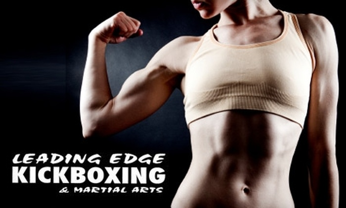 Leading Edge Kickboxing & Martial Arts - Renton: $29 for Three Months of Boot-Camp Classes at Leading Edge Kickboxing & Martial Arts in Renton ($65 Value)