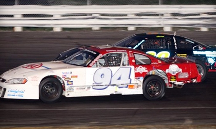 Stafford Motor Speedway - Stafford Springs: $15 for Two Tickets to Friday-Night NASCAR Racing at Stafford Motor Speedway in Stafford Springs ($30 Value)