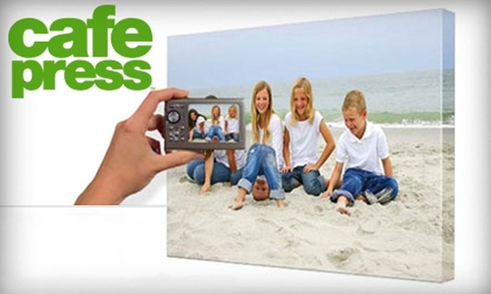 """CafePress: $45 for a 16""""x20"""" Personalized Canvas from CafePress"""