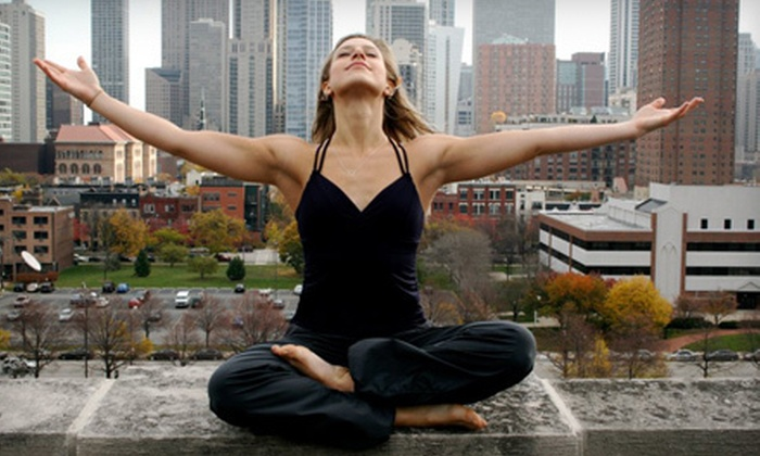 TruHarmony Yoga - Near North Side: 10 Adult Yoga Classes or 5 Kids' Classes at TruHarmony Yoga (Up to 82% Off)
