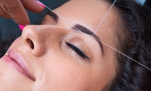 Salon Mayfair Threading & Spa: One Face-Threading Session at Salon Mayfair Threading & Spa (56% Off)