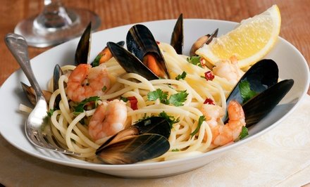 Italian Dinner Cuisine for Two at Bistro Romano (37% Off)