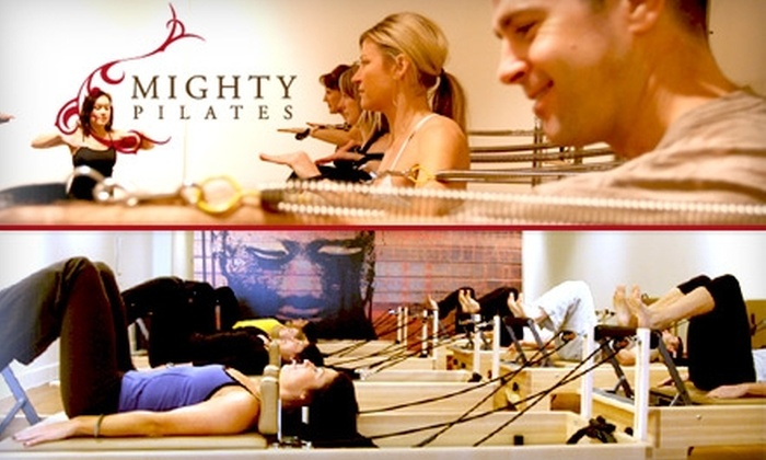 Mighty Pilates - Presidio Heights: $30 for Two Group Classes at Mighty Pilates ($64 Value)
