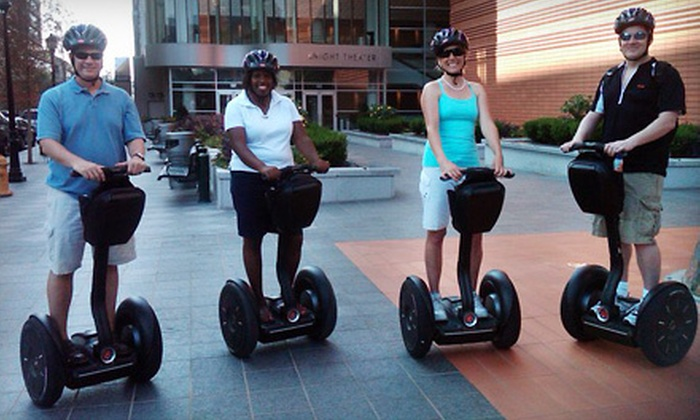 Charlotte NC Tours - Charlotte: Two-Hour Appetizer-Tasting Segway Tour for One or Two from Charlotte NC Tours (53% Off)