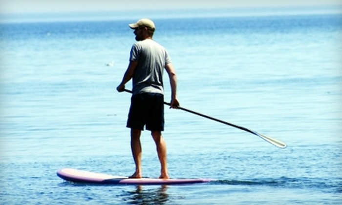 Rutabaga - Monona: $12 for a Half-Day Stand-Up Paddleboard Rental from Rutabaga in Monona ($25 Value)