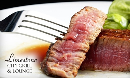 $30 Groupon to Limestone City Grill and Lounge for Lunch - Limestone City Grill and Lounge in Palos Heights