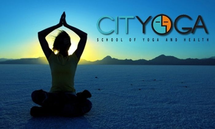 Cityoga - Central Indianapolis: $25 for Five Regular Yoga Classes of Your Choice Plus Mat and Towel Rental at Cityoga ($71.25 Value)