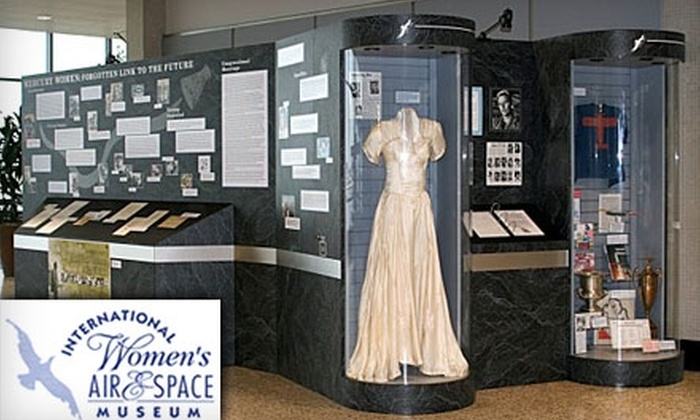 International Women's Air & Space Museum - Downtown: $25 for a Family Membership to the International Women's Air & Space Museum ($50 Value)