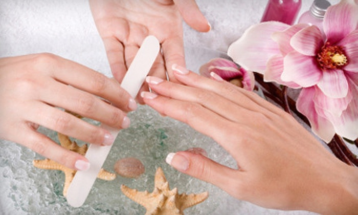 Twist Hair Salon - Victoria: Spa Mani-Pedi for One or Two People at Twist Hair Salon (Up to 53% Off)