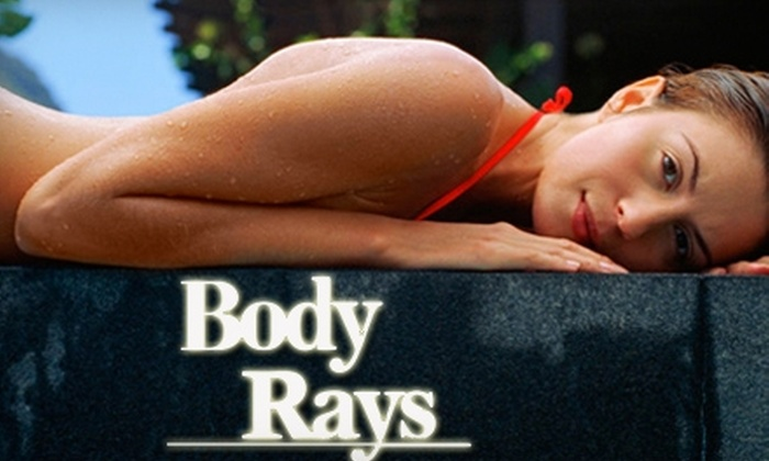 Body Rays - Arlington: $25 for One Month of Unlimited Tanning, Two Mystic Tans, or a Custom Airbrush ($50 Value)