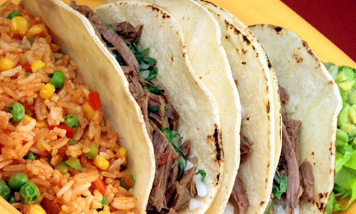 Mexico Lindo - Bethlehem: Tacos or Mexican Dinner for Two at Mexico Lindo in Bethlehem