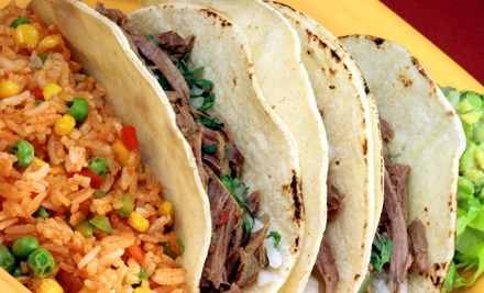 Two 3-Taco Combos (a $6.50 value ea; $13 total value) - Mexico Lindo in Bethlehem