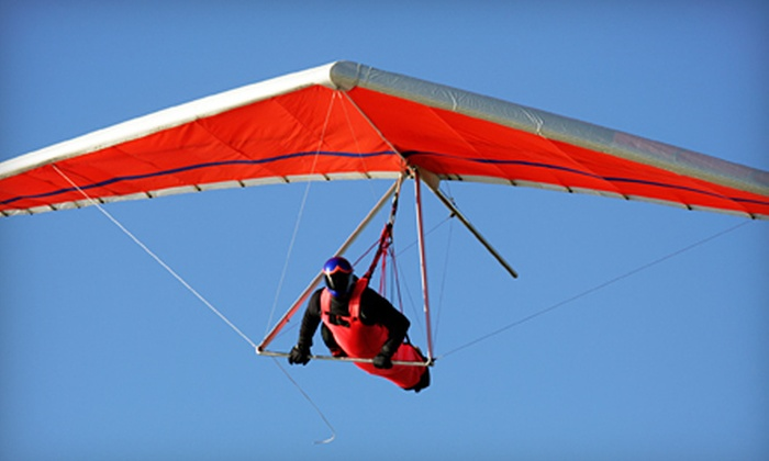 Dive High - Tracy: Introductory Hang-Gliding Lesson for One or Two from Dive High in Tracy (Up to 51% Off)