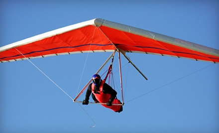 First-Day Introductory Hang-Gliding Lesson for 1 (a $170 value) - Dive High in Tracy