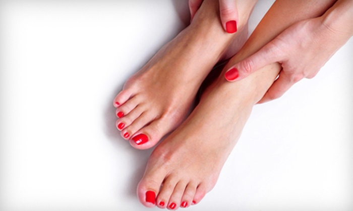 Nails by Carmen - North Las Vegas: $32 for a Shellac Manicure and Mini Pedicure from Nails by Carmen ($65 Value)