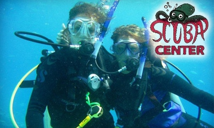 Scuba Center Richmond - Tuckahoe: $10 for a One-Hour Introductory Scuba Class at Scuba Center ($50 Value)