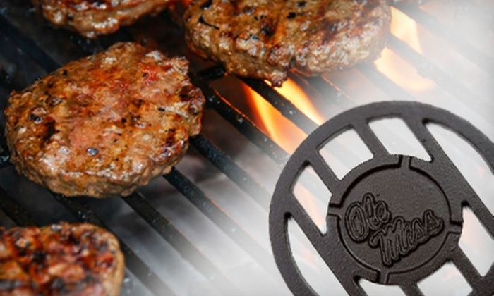 The Grill Topper: $15 for $30 Worth of NCAA-Themed Grilling Equipment from The Grill Topper