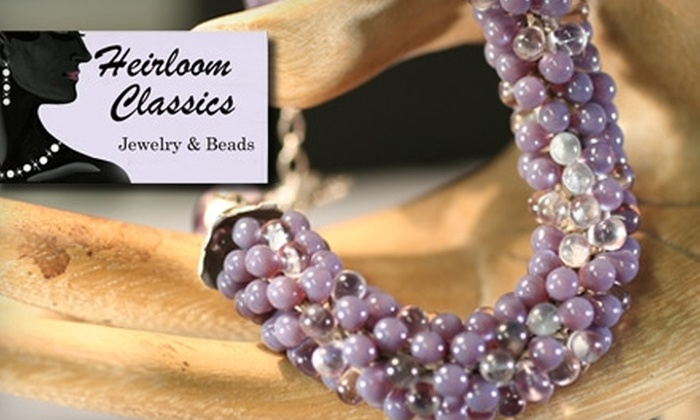 Heirloom Classics - Fountain Square: $20 For $40 Worth Of Handmade Jewelry, Beads, Jewelry-Making Classes, and More at Heirloom Classics