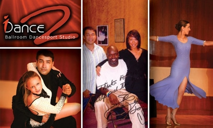 I Dance 2 Inc - Multiple Locations: $225 for Five Private Ballroom Dance Classes at I Dance 2 Studio ($475 Value)