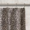 Animal Print 13-Piece Waterproof PEVA Shower Curtain Set