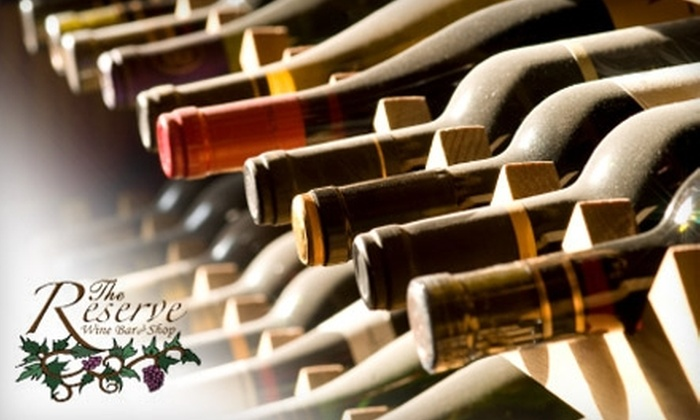 The Reserve Wine Bar and Shop - Trabuco: $20 for $40 Worth of Wining and Dining at The Reserve Wine Bar and Shop in Ladera Ranch