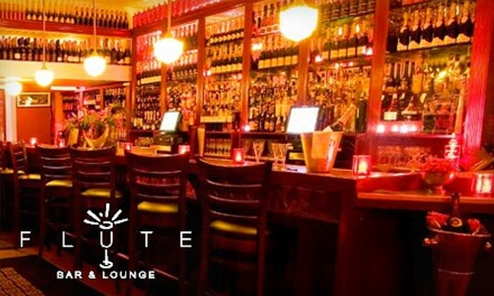 Flûte Bar & Lounge - Flatiron District: $15 for $30 Worth of Spirits, Champagne, and Small Plates at Flûte Bar & Lounge in Midtown