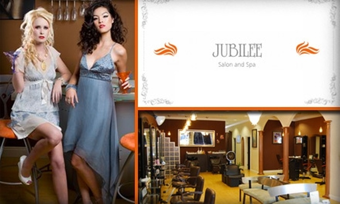 Jubilee Salon and Spa - West Central: $40 for $90 Worth of Hair Services at Jubilee Salon and Spa