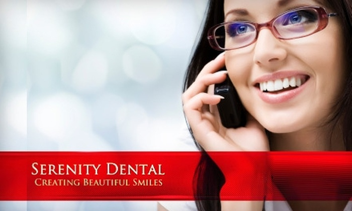 Serenity Dental - Natomas Crossing: $179 for a Zoom! Teeth-Whitening Treatment at Serenity Dental
