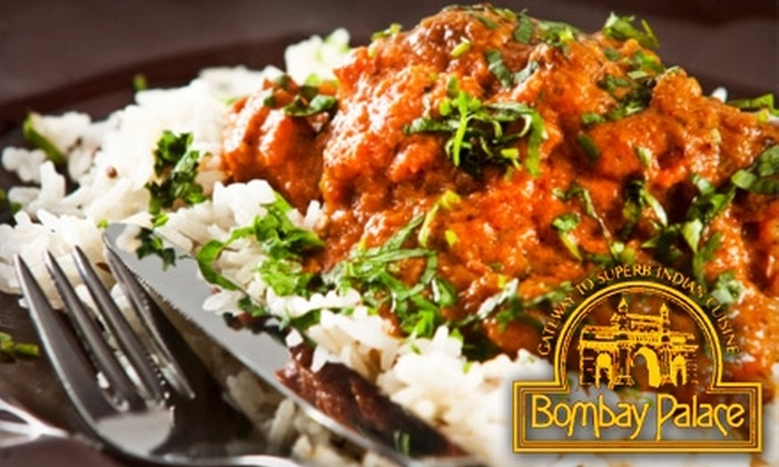 Bombay Palace - Downtown Toronto: $20 for $45 Worth of Indian Fare and Drinks at Bombay Palace