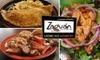 Zaguan Latin Café & Bakery - Multiple Locations: $10 for $20 Worth of Fresh Latin American Fare at Zaguan Latin Café & Bakery