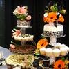 Half Off Three-Tier Wedding Cake