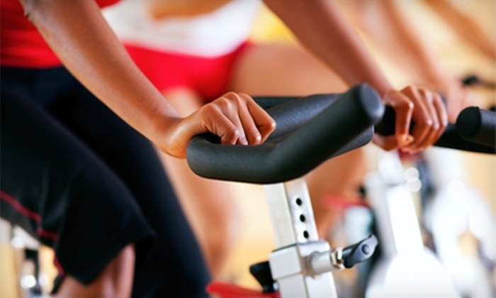 St. Clair Fitness & Racquet Club - Pittsburgh: $20 for 10 Virtual World Tour Cycling Classes at St. Clair Fitness & Racquet Club ($50 Value)