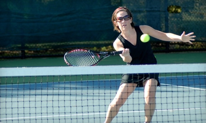 Gladiator Tennis League - Naperville Heights: $50 for Three Seasons of Tennis Matches at Gladiator Tennis League ($105 Value)