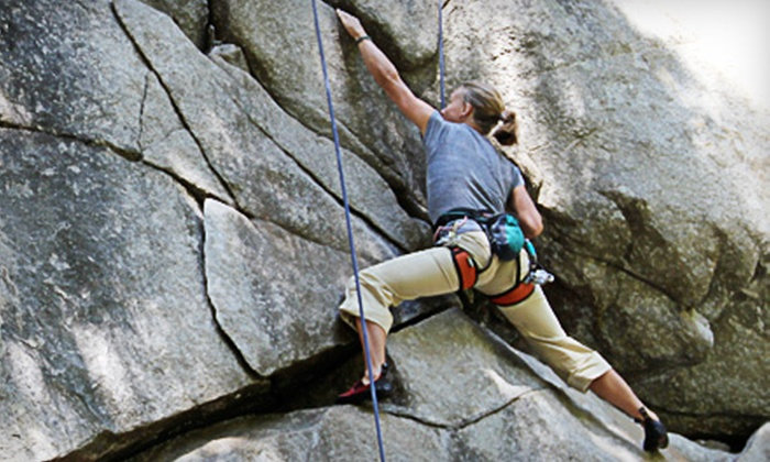 Treks and Tracks - Multiple Locations: $44 for a Four-Hour Beginning Rock-Climbing Adventure from Treks and Tracks ($89 Value)