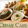 $5 for Lebanese Fare at Cedar Cafe