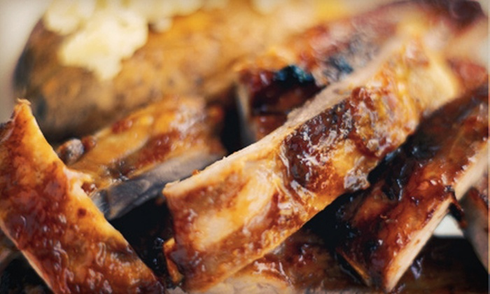 Bodacious Bar-B-Q - Arlington: Barbecue at Bodacious Barbeque (Half Off). Two Options Available.