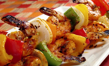 Middle Eastern Food for Two or Four at Salam (Up to 52% Off)