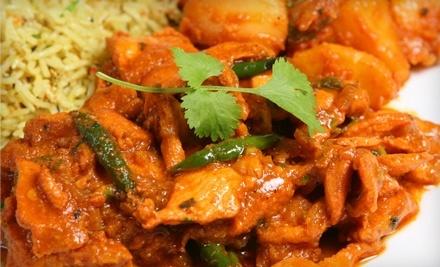 $20 Groupon to New India Restaurant - New India Restaurant in Columbus