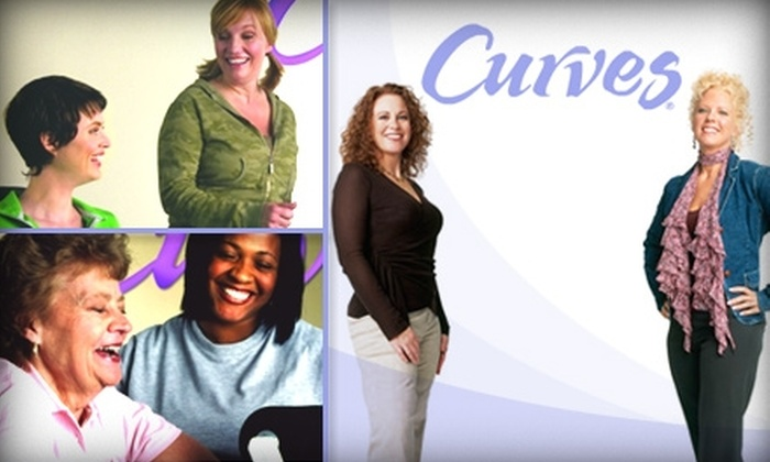 Curves - Multiple Locations: $20 for 20 Visits at Your Choice of Seven Curves Locations ($88 Value)