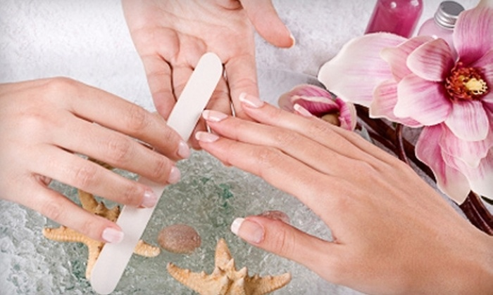 Luxury Nails and Spa - Piedmont Triad: Nailcare Services at Luxury Nails and Spa in Greensboro. Two Options Available.
