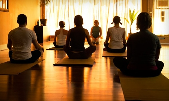 Montavilla Wellness Center - Montavilla: $99 for One Month of Unlimited Yoga Plus a Wellness Package at Montavilla Wellness Center (Up to $380 Value)
