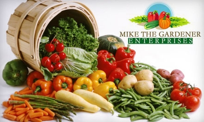 Mike the Gardener Enterprises: $12 for a One-Year Membership to Seeds of the Month Club from Mike the Gardener Enterprises