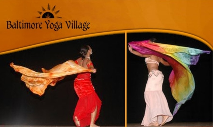 Baltimore Yoga Village - Towson: $10 for Two Belly-Dance Classes at Baltimore Yoga Village