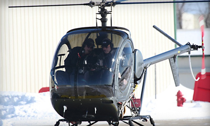 Bachman Aero - Schaumburg: $149 for a Helicopter Lesson from Bachman Aero in Schaumburg ($295 Value)