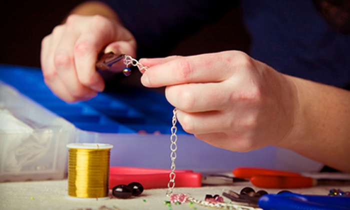 Desert Gems - Creighton: Jewelry-Making Class for One or Two with Supplies or $15 for $30 Worth of Jewelry Supplies at Desert Gems in Lakewood