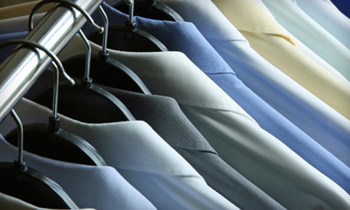 Sketchley Cleaners - Multiple Locations: $15 for $30 Worth of Dry-Cleaning and Shirt-Laundering Services at Sketchley Cleaners