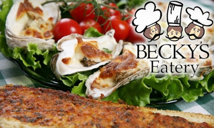 Becky's Eatery - New Warrington: $7 for $15 Worth of Fresh Sandwiches, Salads, and More at Becky's Eatery